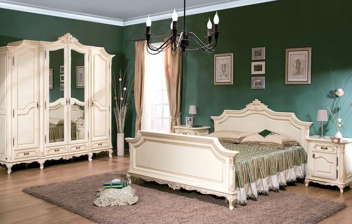 румынская мебель спальня белая фото конный конвой лишь
